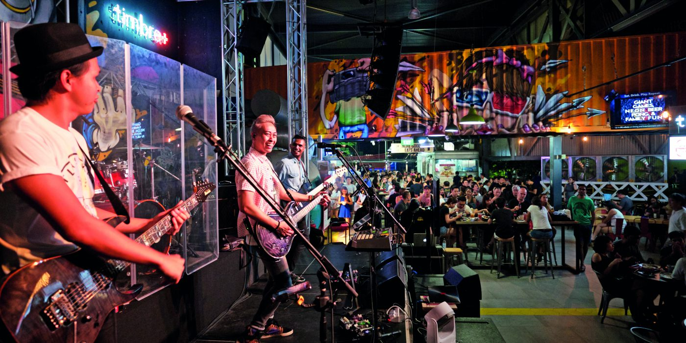 Best Places For Live Music and Good Food - Frontline
